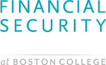 The Financial Security Project at Boston College